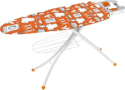 buy brabantia c124 ironing board with solid steam iron. Black Bedroom Furniture Sets. Home Design Ideas