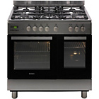 more details on Candy CCG9D52PX Dual Fuel Range Cooker - Stainless Steel.