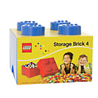 more details on Lego Storage Brick Blue 4.