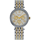 more details on Caravelle New York Ladies' Two-Tone Multi Dial Watch.