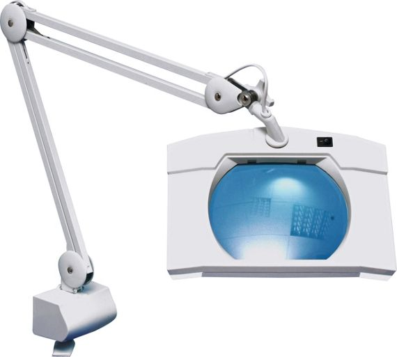 Buy Square Extendable Magnifier Lamp With Table Clamp At Argos Co Uk Your Online Shop For