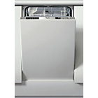 more details on Whirlpool ADG1751 Integrated Slimline Dishwasher - Silver.