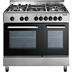 more details on Baumatic BC392.2 Dual Fuel Twin Cavity Ranch Cooker.