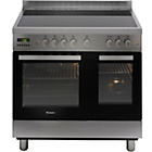 more details on Candy CCV9D52X Electric Range Cooker with Hob - S Steel.