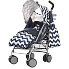 more details on Obaby Metis Plus Stroller Bundle - ZigZag Navy.