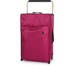 more details on Worlds Lightest Cerise Pink Trolley Case - Large.