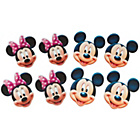 more details on Disney Mickey Mouse and Minnie Mouse Pack of 8 Party Masks.