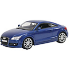more details on Audi TT Coupe Blue 1:18 Scale Diecast Collectors Model.