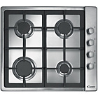more details on Candy CLG64SGX Gas Hob - Stainless Steel.