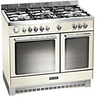 more details on Baumatic BCD925 Dual Fuel Range Cooker - Ivory.