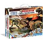 more details on Clementoni Archeofun T-Rex and Triceratops.