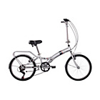 more details on Activ Fold S6 20 Inch Steel Folding Bike - Unisex.