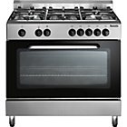 more details on Baumatic BC391.3 Dual Fuel Range Cooker - Stainless Steel.
