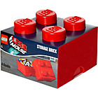 more details on Lego Storage Brick Red 4.