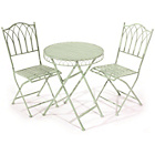 more details on Versailles Garden Bistro Set - Pistachio.