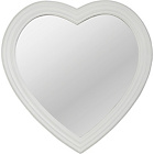 more details on Heart of House Amour Wooden Heart Mirror - Ivory.