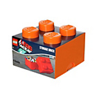 more details on Lego Movie Storage Brick Orange 4.