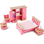 more details on Tidlo Wooden Dolls House - Bedroom Furniture.
