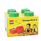 more details on Lego Storage Brick Green 4.