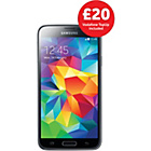 more details on Vodafone Samsung Galaxy S5 Mobile Phone - Black.