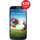 more details on Vodafone Samsung Galaxy S4 Mobile Phone - Black.