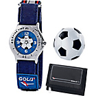 more details on Gola Boys' Sports Wallet, Training Ball and Watch Gift Set.