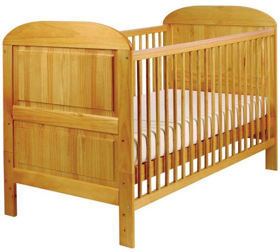 buy east coast nursery angelina cot bed antique at argos. Black Bedroom Furniture Sets. Home Design Ideas