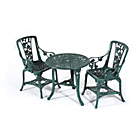 more details on Rose Garden Bistro Set - Verdigris.