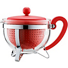 more details on Bodum Chambord Teapot - Red.