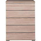 more details on Linear 5 Drawer Chest - Oak Effect.