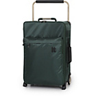 more details on Worlds Lightest Green Pine Trolley Case - Small.