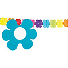 more details on Paper Flower 4 Metre Garland - Pack of 2.