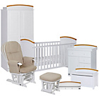 more details on Tutti Bambini Barcelona 7 Piece Room Set - Beech and White.