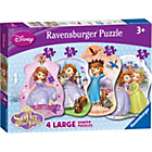 more details on Ravensburger Sofia the First Four Giant Puzzles