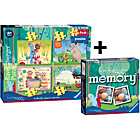 more details on Ravensburger In the Night Garden My First Puzzle & Memory