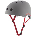 more details on REAX Damaged Rubberised Bike Helmet 53-59cm - Grey.