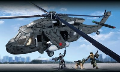 Call of Duty Ghosts Tactical Helicopter