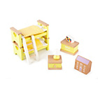 more details on Tidlo Wooden Dolls House - Childrens Bedroom Furniture.