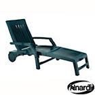 more details on Nettuno Folding Sun Lounger - Green.