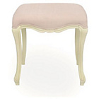more details on Statement Furniture Juliette Dressing Table Stool - Cream.