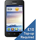 more details on EE Huawei Ascend Y330 Mobile Phone - Black.