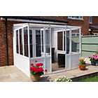 more details on Norfolk Greenhouses Sunroom UPVC Greenhouse - 8.25 x 8.25ft.