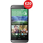 more details on Vodafone HTC One M8 Mobile Phone - Silver.