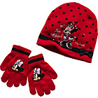 more details on Disney Minnie Mouse Hat, Scarf and Gloves Set - One Size.