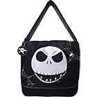 more details on Nightmare Before Christmas Messenger Bag - Black and White.