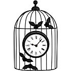 more details on Decorative Wall Mounted Bird Cage Wall Clock.