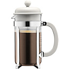 more details on Bodum Caffettiera Coffee Maker 8 Cup - White.