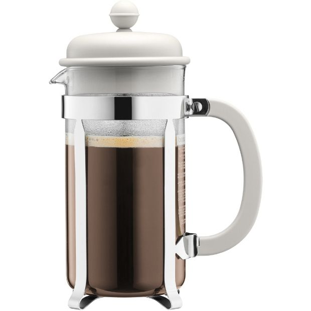 Press Coffee Maker Argos : Buy Bodum Caffettiera Coffee Maker 8 Cup - White at Argos.co.uk - Your Online Shop for Teapots ...