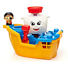 more details on Mega Bloks Pirate Ship Pat.