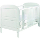 more details on East Coast Nursery Angelina Cot Bed - White.